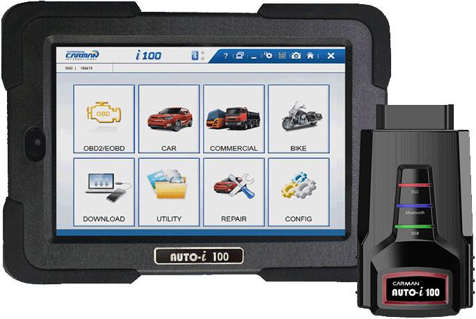 Новая версия 2190 для сканеров Carmanscan AT, VCI, i100, i300, i700, New Lite
